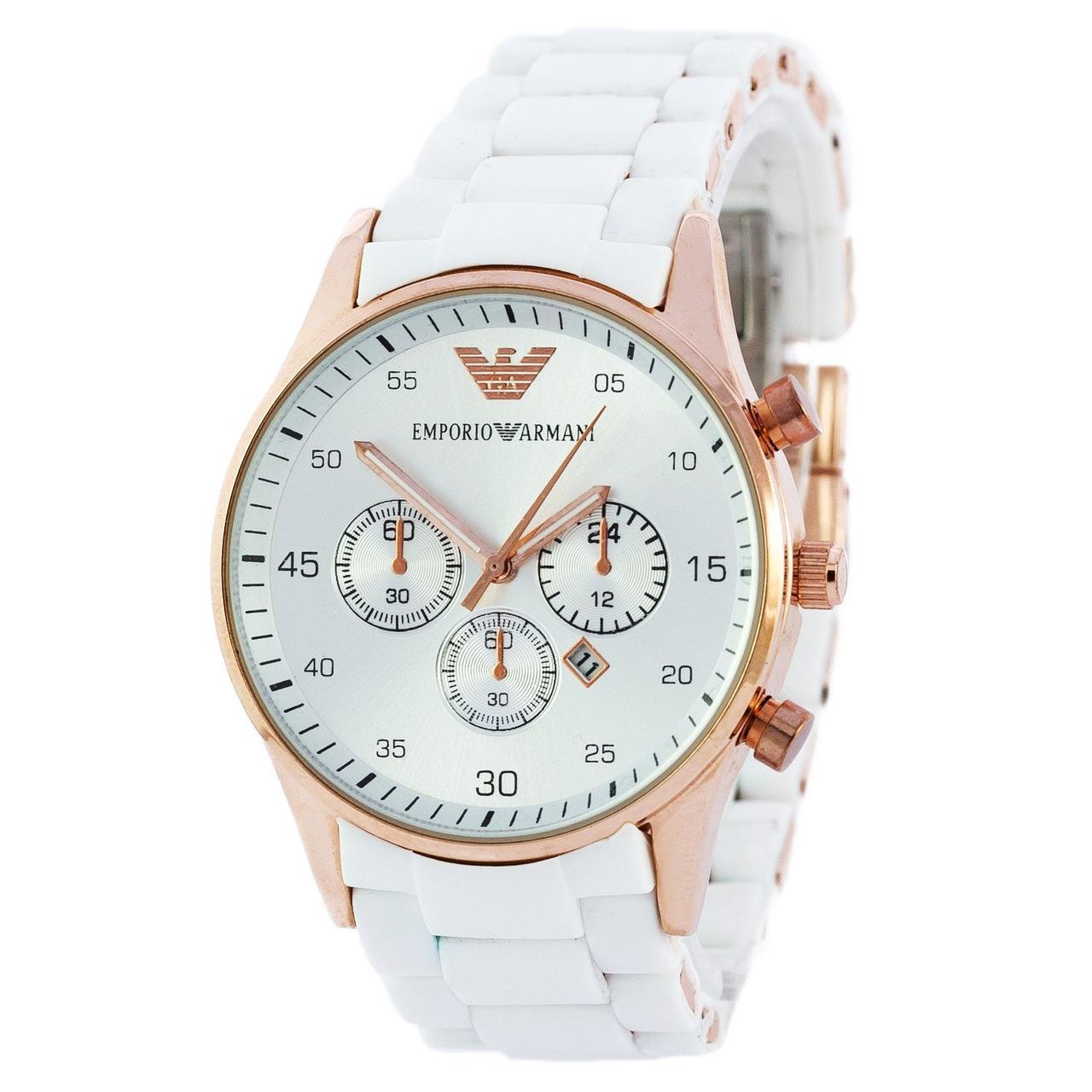 6e1870c9 Мужские наручные часы (копия) Emporio Armani Silicone Gold-White, цена  374,85 грн., купить в Харькове — Prom.ua (ID#788656384)
