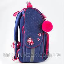Рюкзак школьный каркасный Kite Education Fluffy bunny K19-501S-4, фото 2