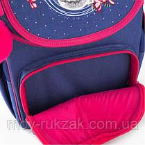 Рюкзак школьный каркасный Kite Education Fluffy bunny K19-501S-4, фото 3
