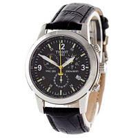 Мужские наручные часы (копия) Tissot T-Sport PRC 200 Chronograph Black-Silver-Black-Yellow