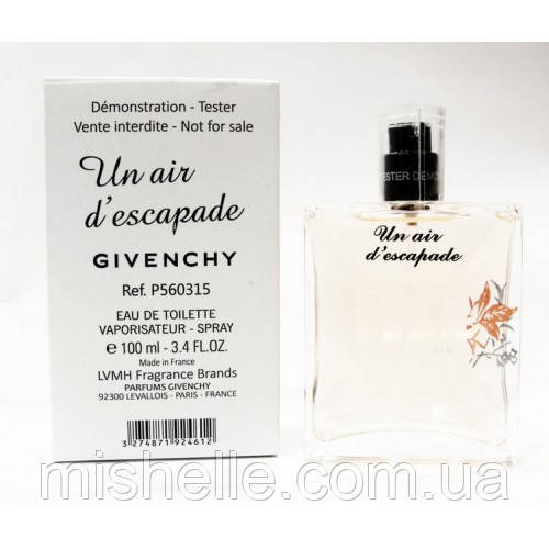 Тестер Givenchy Un Air d'Escapade (Живанши Эир Дескапед) ОАЭ