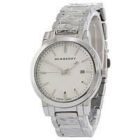 Мужские наручные часы (копия) Burberry B32 Silver-White