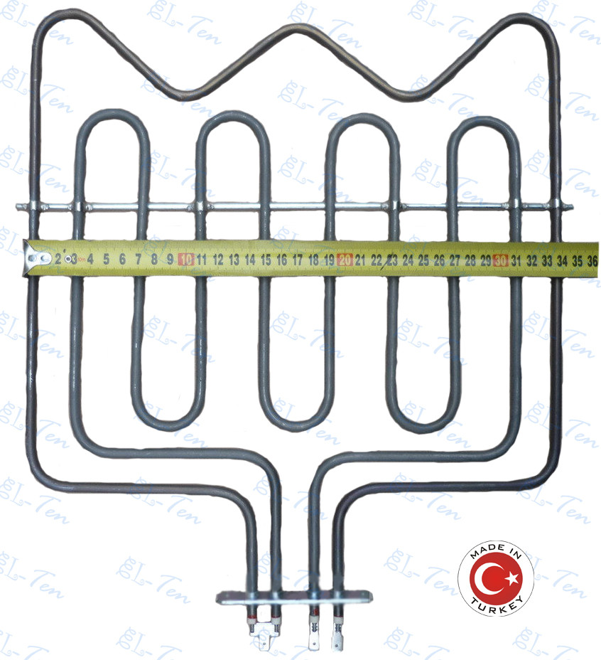 Тэн для духовки Beko, мощностью 3,5кВт, размер 360*340 (Sanal, Турция)