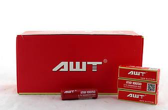 Акумулятор 18650 AWT red (ціна за 2 штуки) для сигарет VK
