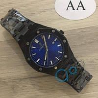 Мужские наручные часы (копия) Audemars Piguet Royal Oak Quartz Black-Blue