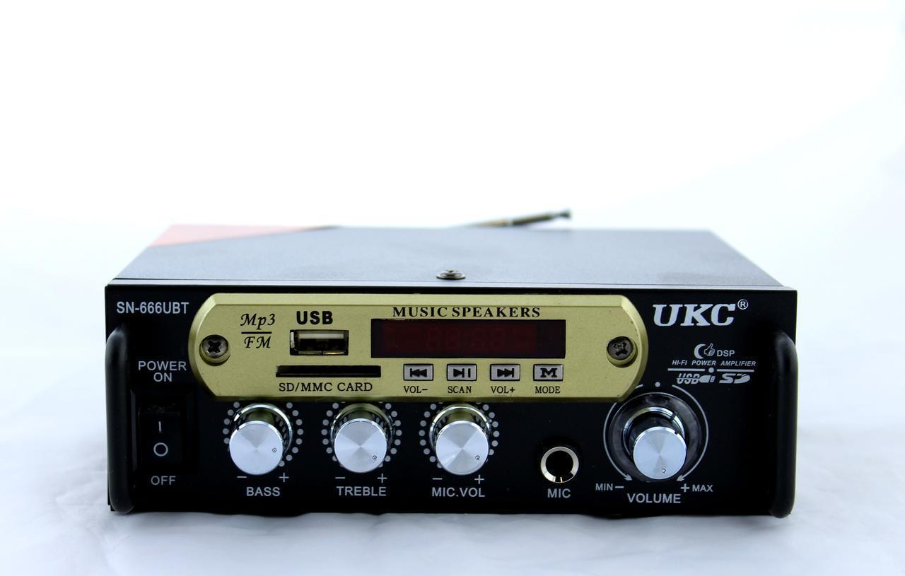 Підсилювач AMP 666 BT ZFM