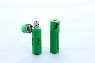 Акумулятор 18650 c USB зарядкою Battery FZ