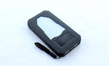 Портативное зарядное устройство Power Bank Solar Led 25800 mAh XN