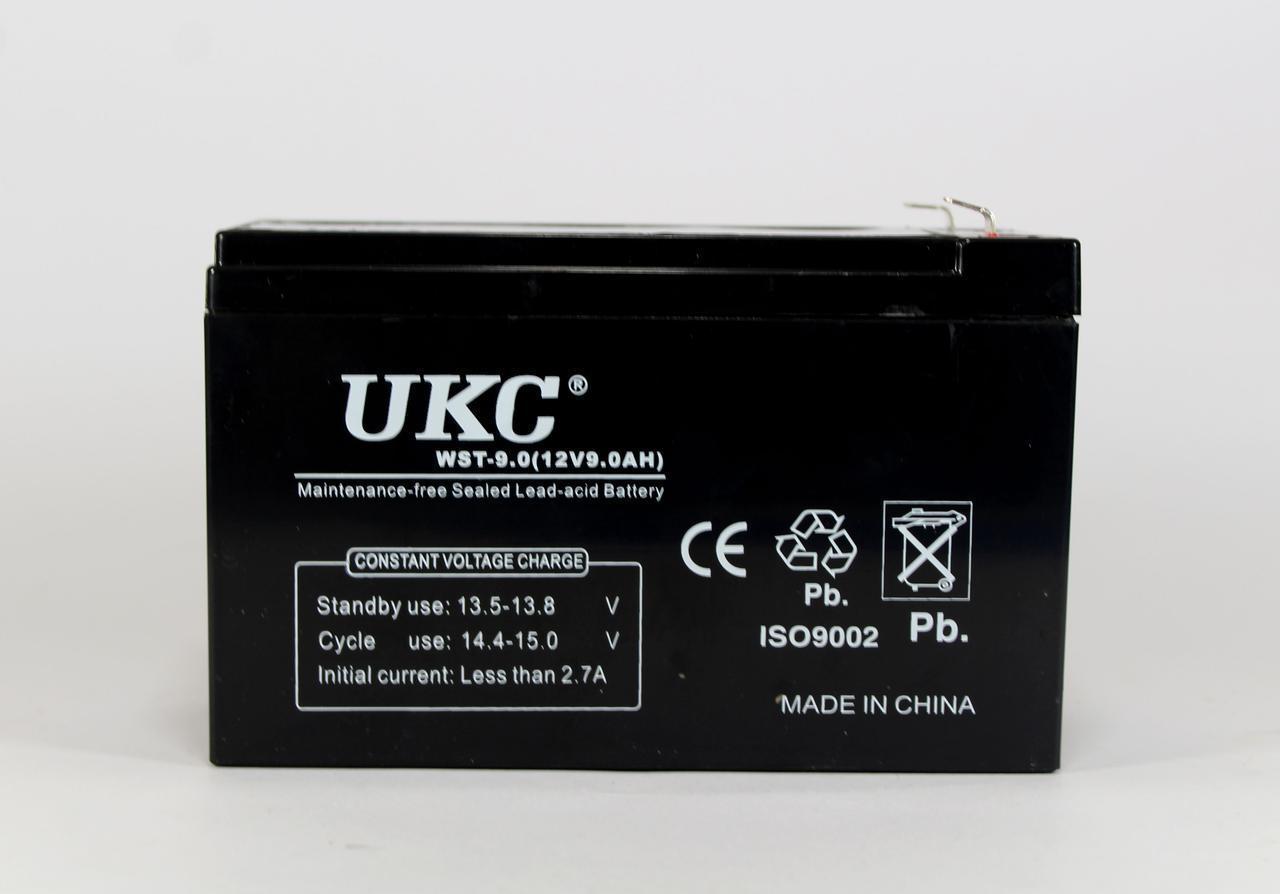 Аккумулятор BATTERY 12V 9A UKC KM