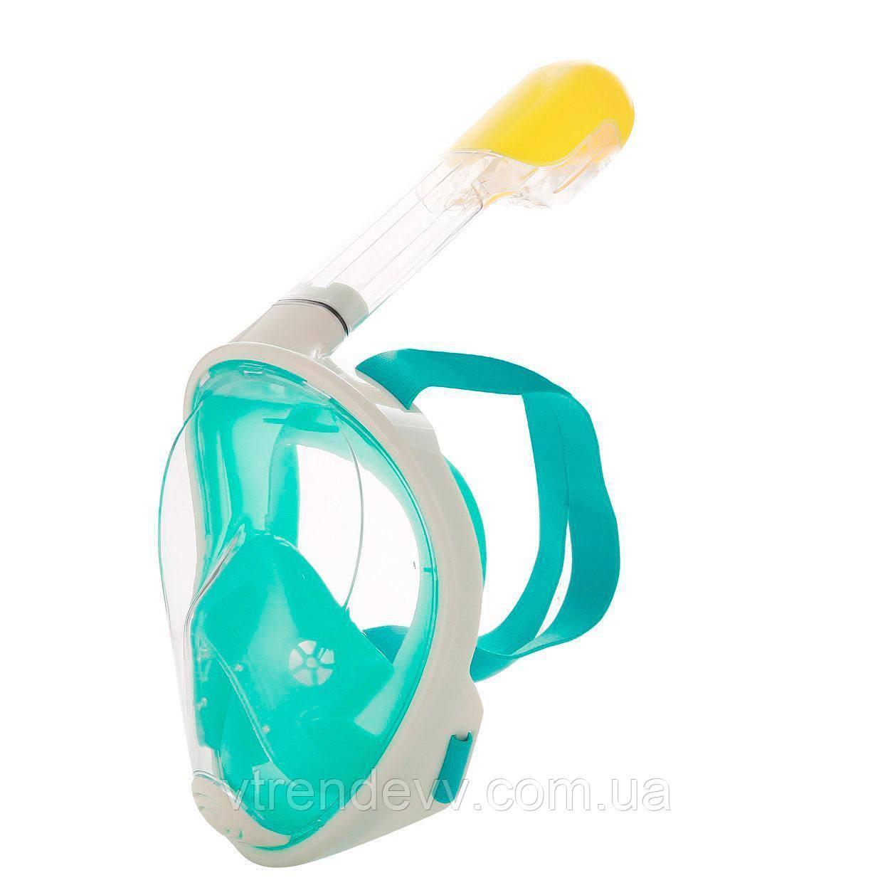 Маска для плавания FREE BREATH S/M с креплением на камеру