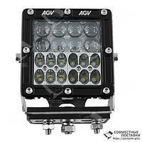 950-990320003 Фара додаткова Extreme LED 60W (20x3W XB-D CREE) квадратна, 4500lm, 9-32V (Combo) 60 Ватт