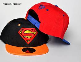 Реперка Superman р. 52-53 (4-6 лет). Есть черные