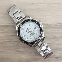 Мужские наручные часы (копия) Rolex Submariner Silver-Black-White