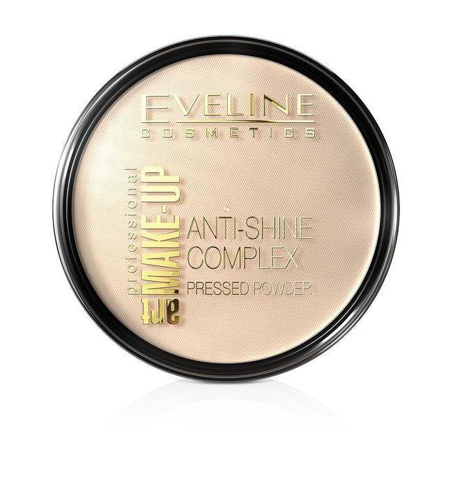 Компактная пудра Anti-Shine Complex № 33 Eveline Cosmetics, 9г Эвелин