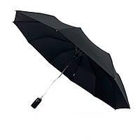Мужской зонт-полуавтомат Calm Rain, черного цвета, 351-1