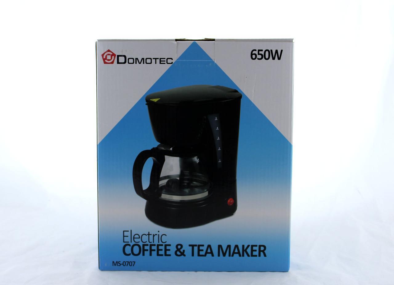 Кофеварка Domotec MS 0707 220V KM