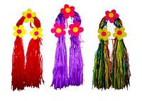 Антенка обруч Хвостик с цветами, поролон