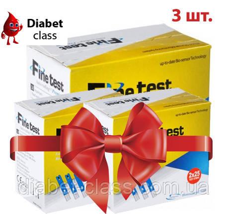 Тест-полоски Finetest premium 50 3 упаковки