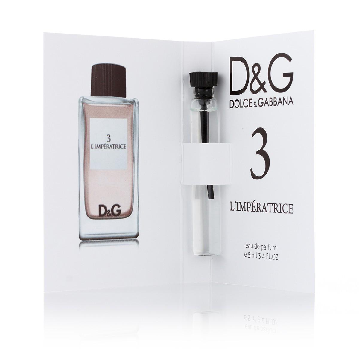 D&G Anthology L`Imperatrice 3 (ж) 5 ml