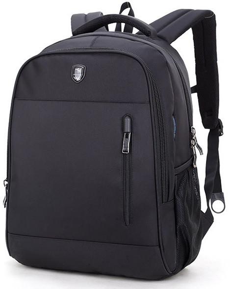 """Классический влагозащищённый рюкзак для ноутбука 15,6"""" Arctic Hunter B180018, с отверстием для наушников, 22л"""