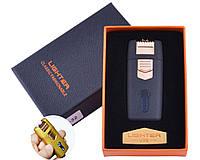 Зажигалка Lighter в подарочной коробке Lighter (Двойная молния) Black