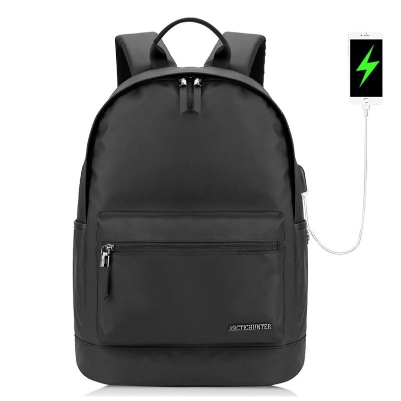 """Молодёжный влагозащищённый рюкзак для ноутбука до 15,6"""" Arctic Hunter B00073, 22л"""