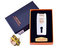 Зажигалка Lighter в подарочной коробке Lighter (Двойная молния) White