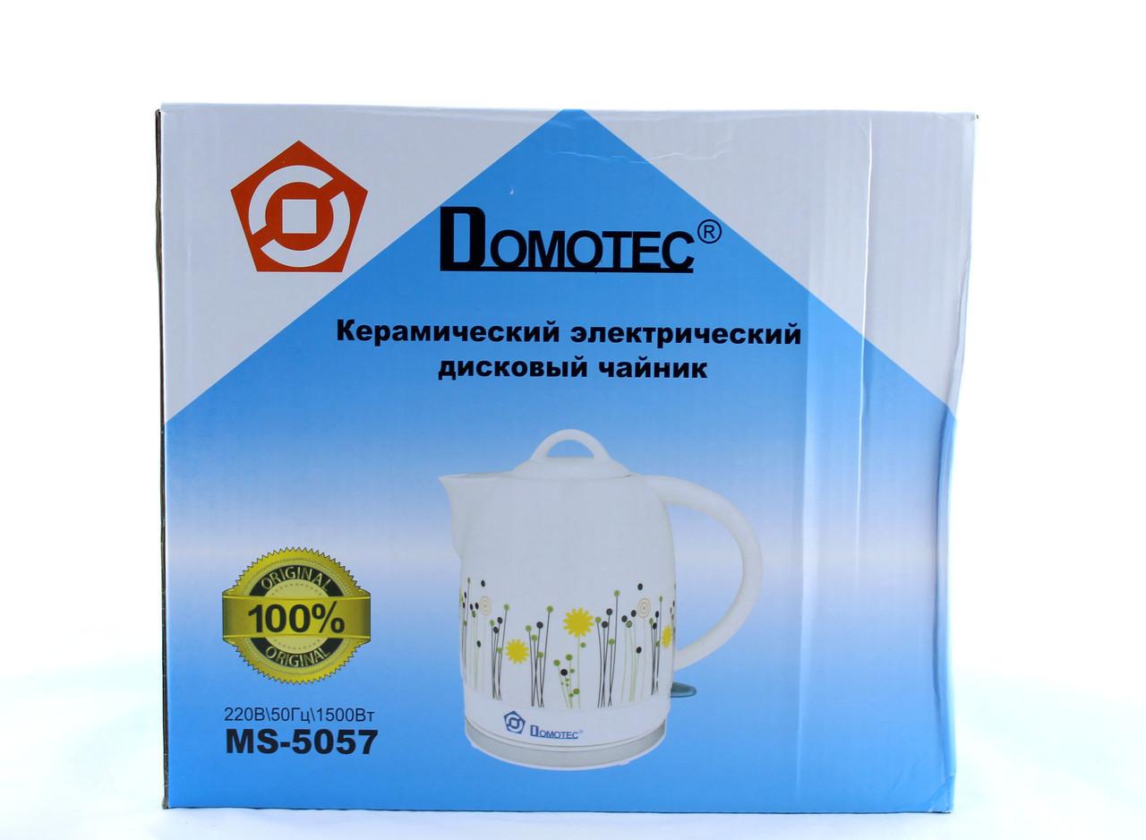 Чайник Domotec MS 5057 керамічний 1,7 L Box ZFM