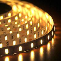 Светодиодная лента LED 3528 White 60R WW Теплый белый VZ