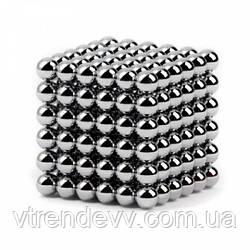 Неокуб Silver Neocube в боксе 216 шариков металлический