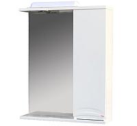 Зеркало ХАСТ Валенсия 55 + шкаф белый
