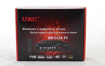 Тюнер DVB-T2 2558 METAL с поддержкой wi-fi адаптера MV