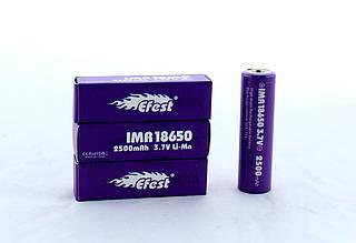 Акумулятор 18650 Pointed Efest Battery ZV