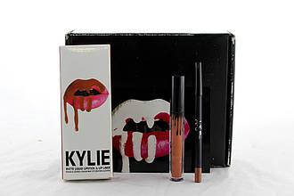 Помада + карандаш для губ Kylie 8611 2в1 Box 8 FFK