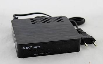 Тюнер DVB-T2 7820 с поддержкой wi-fi адаптера KV