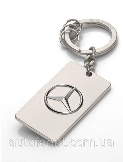 Оригинальный брелок Mercedes-Benz Key Ring Trucks, Diecast Zinc, Silver (B67871176)