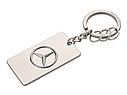 Оригинальный брелок Mercedes-Benz Key Ring Trucks, Diecast Zinc, Silver (B67871176), фото 2