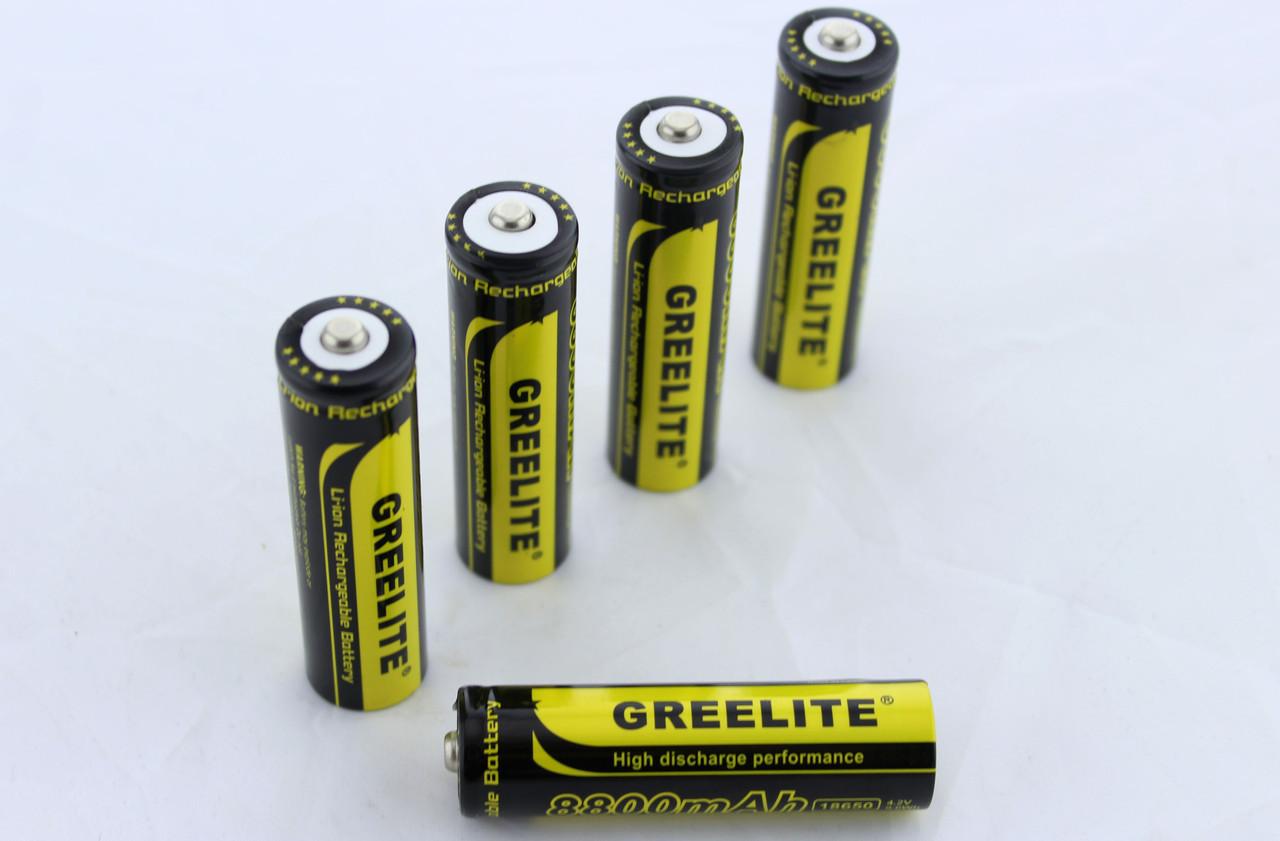 Аккумулятор 18650 Black Battery Greelite FFK