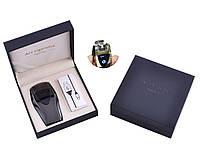 Электроимпульсная зажигалка в подарочной упаковке ArcCigarette (Двойная молния, USB) Black