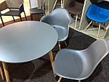 Стілець Nik Eames, темно-сірий, фото 5