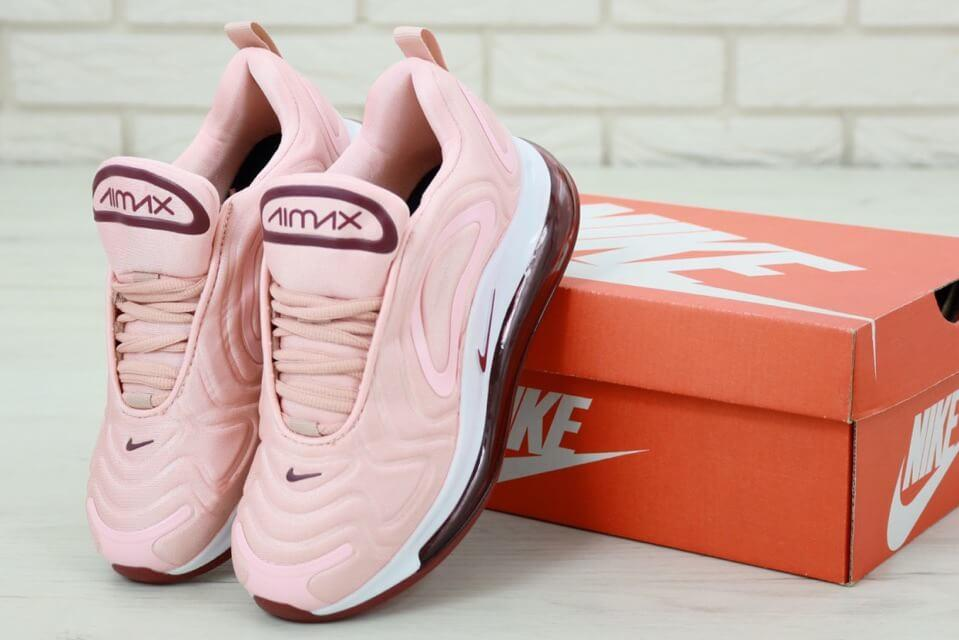 Женские розовые кроссовки Найк Аир Макс 720 (Nike Air Max 720 Pink women)