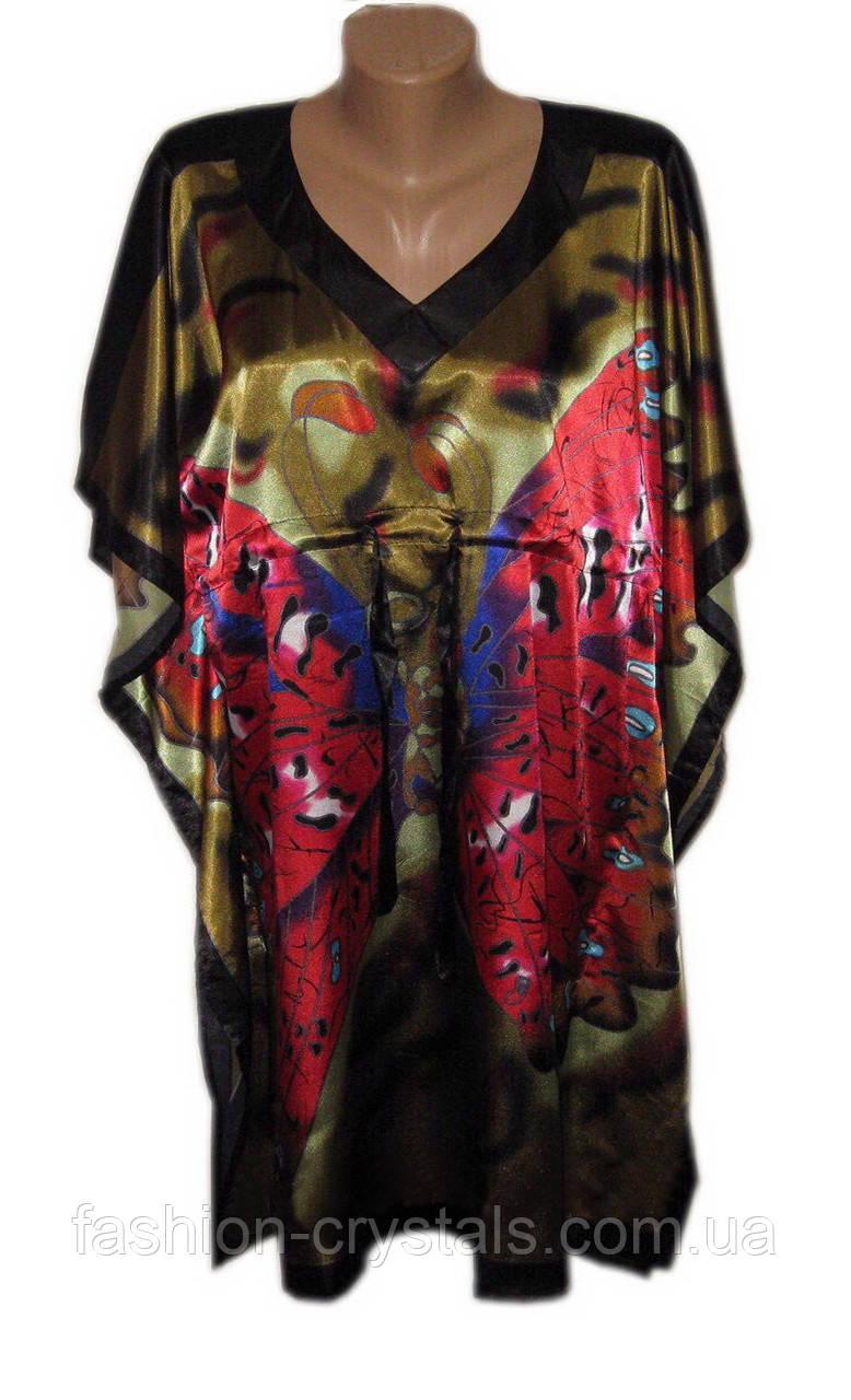 Шелковое кимоно бабочка