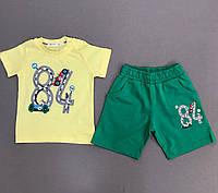 Костюм футболка и шорты на мальчика Трек р. 92