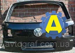 Крышка багажника б.у на Фольксваген Туарег (Volkswagen Touareg) 2010-2017