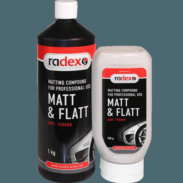 Матирующая паста Radex Matt&Flat 0,5кг