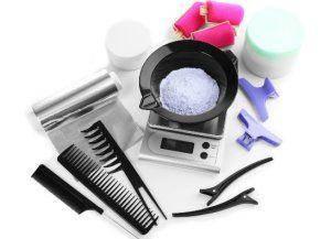 Аксесуари для фарбування волосся