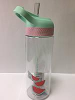 Бутылочка Фрукты с поилкой 650 мл, фото 1