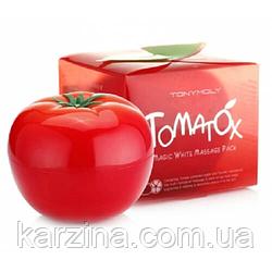 Осветляющая томатная маска для лица 18+ Tony Moly Tomatox Magic White Massage Pac