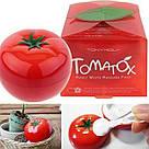 Осветляющая томатная маска для лица 18+ Tony Moly Tomatox Magic White Massage Pac, фото 4