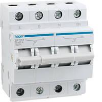 Перемикач I-0-II 1P+N 63А sf263 Hager